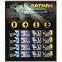 Batman Folha Com 20 Selos Comemorativos Ano 2014