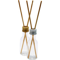 40 Aromatizador Difusor Embalagem Plastica 50ml Com 2 Vareta