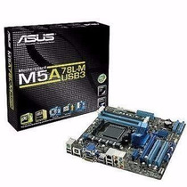 Placa Mãe M5a78l-m-usb3 P Socket Am3 140w Ddr3 Asus