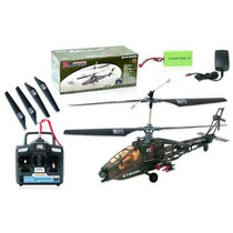 Helicóptero Apache Ah64 - 4 Canais Luz Noturna