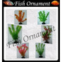 Kit 6 Plantas Soma 30cm Fish Ornament