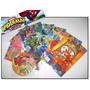 Kit 8 Livros Infantis + Cd Com Jogos - Spider-man & Friends