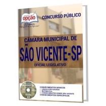 Apostila Câmara De São Vicente - Oficial Legislativo