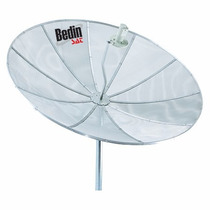 Antena Parabólica 1,90m Com Pedestal 2,5