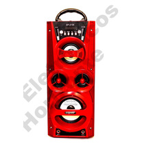 Caixa Som Portátil Speaker Amplificada Ecopower Fm Usb 20w