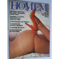 Revista Homem 45 Mai 1982 Filme Prazeres Permitido M. Lafond