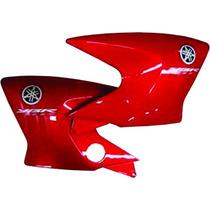 Aba Do Tanque Ybr 125 Factor Vermelho 2011 Com Adesivos