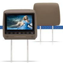 Dvd Player Encosto Cabeça 7 Lcd Game Touchscreen Para Carro