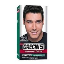Grecin 5 Shampoo Tonalizante Castanho Escuro (2 Unidades)
