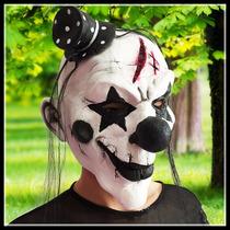 Máscara Látex Para Festas, Palhaço Assustador - Pronta Entre