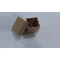 Kit Com 50 Caixinhas Em Mdf Cru (5x5x5) Para Decorar