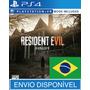 Resident Evil 7 Ps4 Psn Original 1 - Totalmente Em Português
