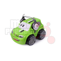 Carrinho De Controle Remoto Uno Verde Fiat-fun 3 Funções