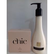 Perfume Chic Deo Colônia+veludo Hidratante Sensual Velvet