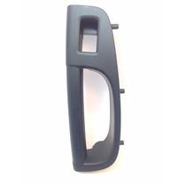 Puxador Moldura Porta Traseira Direita Vw Gol G5 - Preto