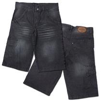 Bermuda Jeans Masculina Barata Com Lycra Pronta Entrega