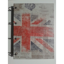 Caderno Argolado G London Londres Inglaterra 10 Matérias