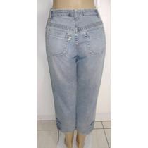 Calça Jeans Feminina Marca Yorus Tam.42 S/ Strech #z