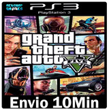 Grand Theft Auto V Gta 5 Legendado Português Psn Ps3envio Ja