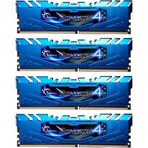 Memória G.skill Ripjaws 4 Ddr4 2400mhz 16gb (4 X 4gb) Azul