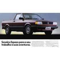 Ombreira + Forro Porta Saveiro Cl Quadrada 92 93 94 95 96 Pt