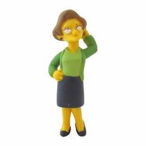 Boneco Novo The Simpsons Edna Krabappel Multikids
