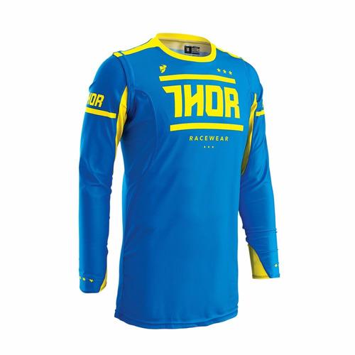 Camisa Thor Prime 16 Fit Squad - Azul / amarelo - Tam. Gg