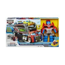 Conjunto Trailler Optimus Prime Rescue Bots A2572 Hasbro