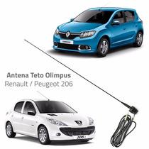 Antena Teto Renault / Peugeot 206 Original Olimpus 12260057