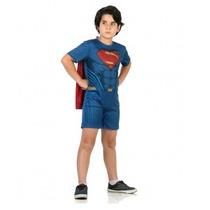 Fantasia Super Homem Em Batman X Superman Tam M 6 - 8 Anos