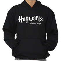Blusa Hogwarts School Moleton Harry Potter