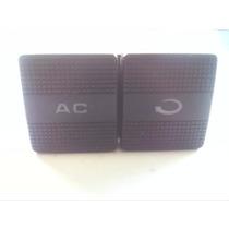Botão Duplo Ar Condicionado / Circulador Ar Golf 95/98