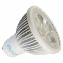 Lampada Spot Led Dicroica Branco Quente 5w Gu10 Bivolt Super
