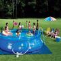 Piscina Inflável 4600 Litros Combo Splash Fun Mor Com Filtro