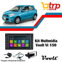 Multimidia March 2014 Voolt 150 Dvd Gps Bt Tv 2 Din Android