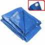 Lona 8 X 5 Azul Plastica Impermeavel Telhado Festa Barraca