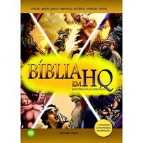 Bíblia Em Hq - História Em Quadrinhos Capa Dura |bônus Dvd