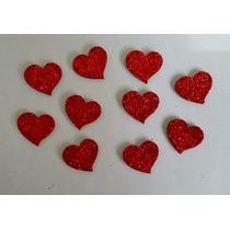 20 Bindi Laços Adesivos Coração Namorados Cães Petshop