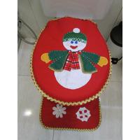 Tapetes Natal - Banheiro - Decoração Natalina