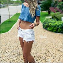 Shorts Degrant Branco Tamanho 40