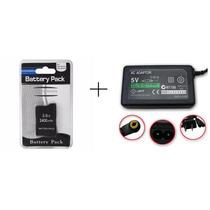 Bateria P/ Sony Psp 2000 3000 + Carregador P/ Psp 2000 3001