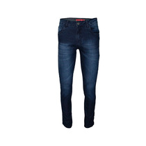 Calça Versatti Jeans Otávio Azul Escuro Lavada