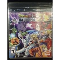 Dragon Ball Z Battle Of Z Ps3 Novo Lacrado Pronta Entrega!!