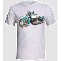 Camiseta Moto Custom Harley Davidson