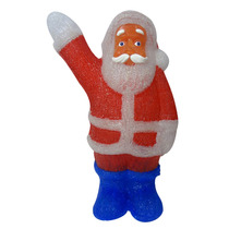 Papai Noel Enfeite Iluminado De Acrílico Natal Decoracao