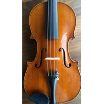 Violino Antigo Alemão Feito Por J.h.zimmermann Em 1900