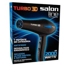 Secador Salon Line Turbo 3d Profissional 2000 Watts 127v