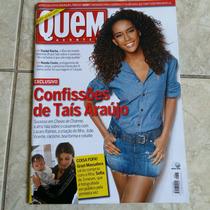 Revista Quem Acontece - Tais Araújo Grazi Massafera 14/9/12