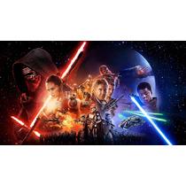 Papel De Parede Adesivo Star Wars Guerra Nas Estrelas