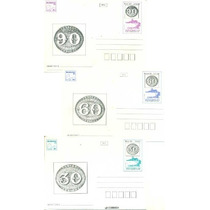 Brasil 1983 - 3 Inteiros Postais Bilhete Olho-de-boi